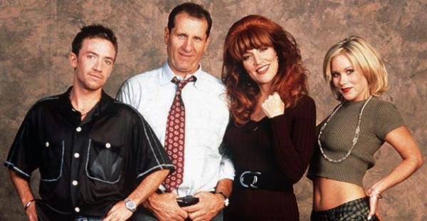 """Bud, Al, Peggy und Kelly sind """"Eine schrecklich nette Familie""""."""