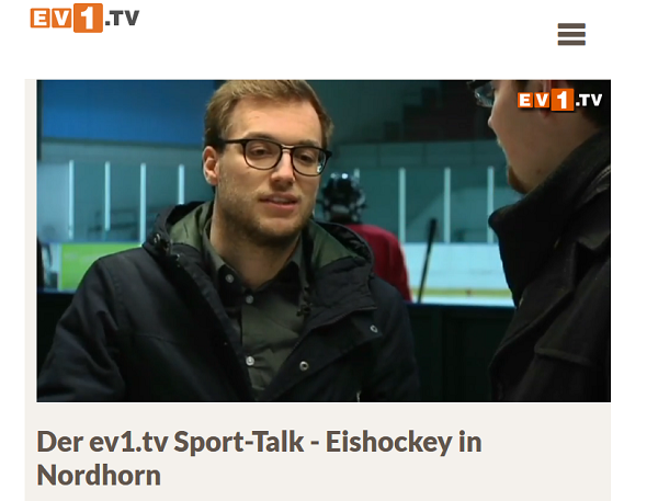 Screenshot: ev1.tv