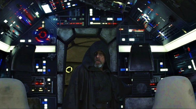 "Luke Skywalker in ""The Last Jedi"". (c) Lucasfilm Ltd."