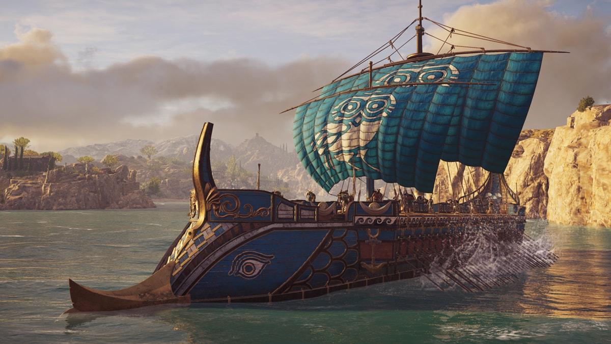 Seeschlachten sind in Assassin's Creed Odyssey auch wieder dabei.